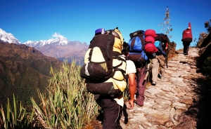 Hikers on the Inca Trail (Pic from www.lolaakinmade.com)