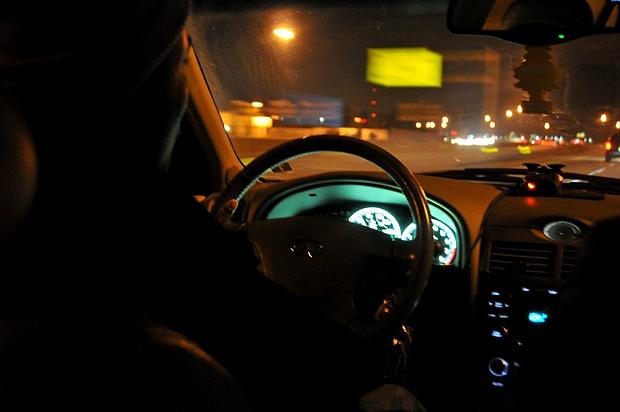 Postcard: Backseat Driver